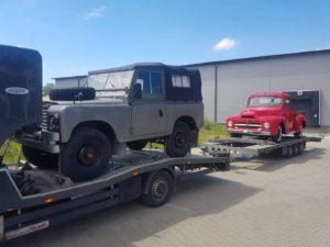 Transport samochodów do Francji